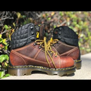 Dr. Marten's Industrial Safety Toe Boot